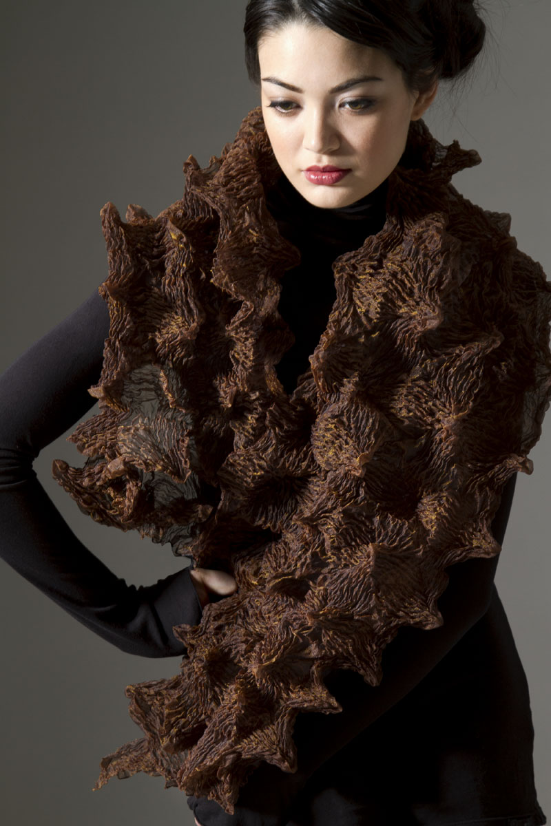 Amy Nguyen Textiles - Iki - Mountain Wrap