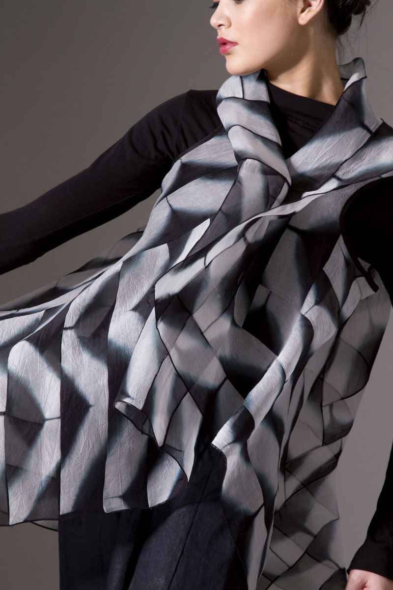 Amy Nguyen Textiles - Iki - Asymmetrical Vest
