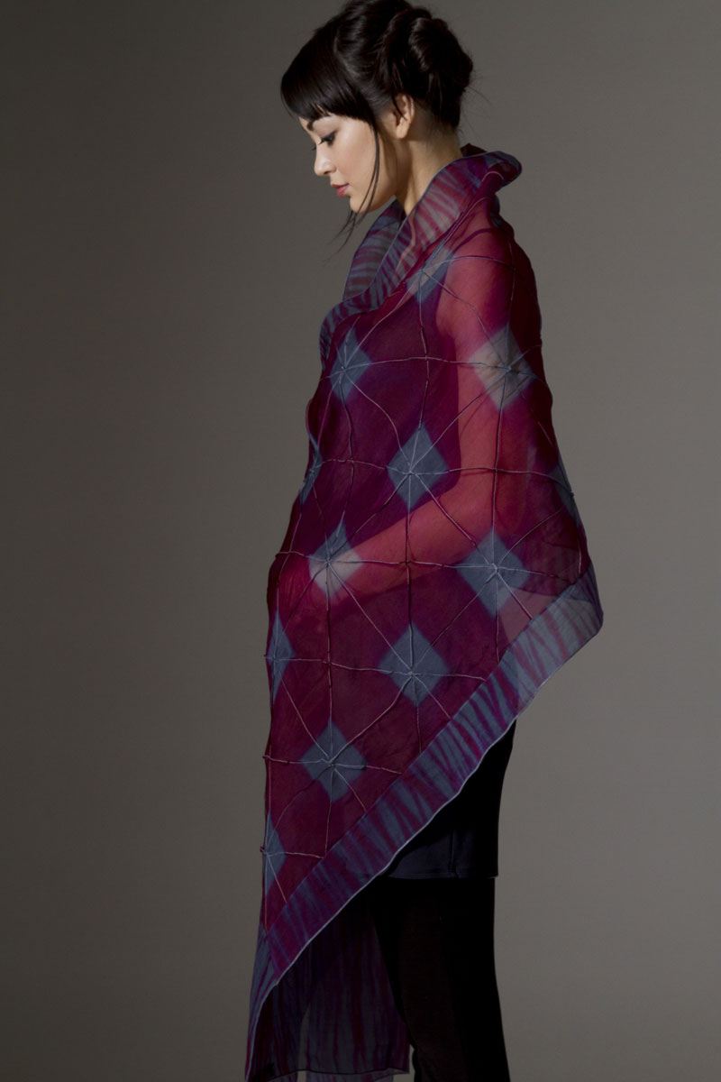 Amy Nguyen Textiles - Iki - Dual-Patterned Wrap