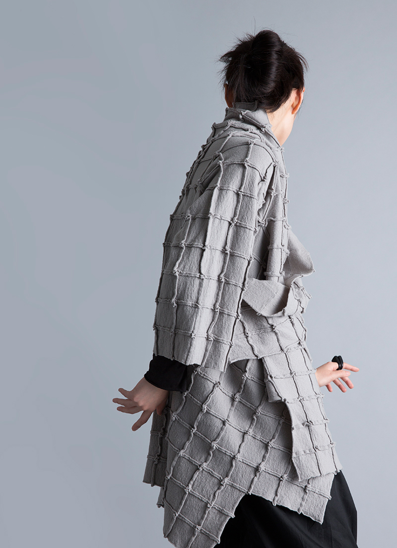 Amy Nguyen Textiles - Kintsugi - Pieced Wool Coat