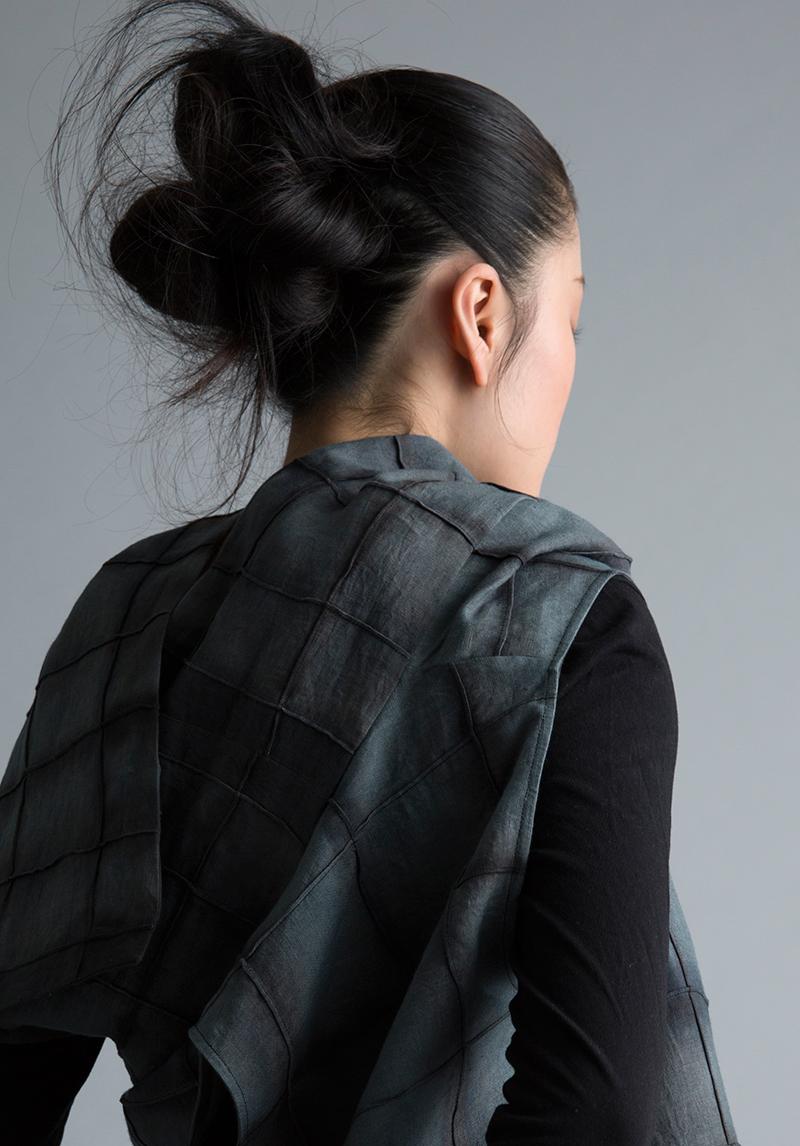 Amy Nguyen Textiles - Kintsugi - Modern Wrap Vest