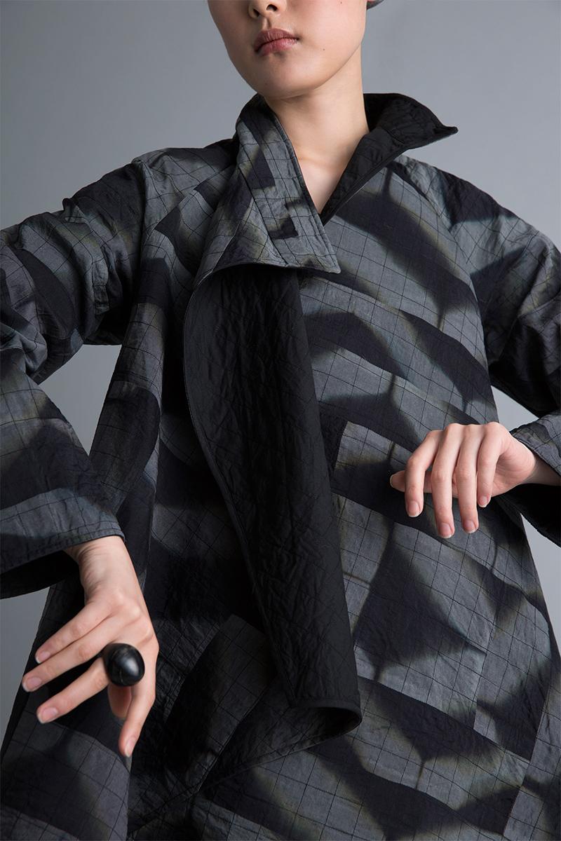 Amy Nguyen Textiles - Kintsugi - Modern Asymmetrical Coat