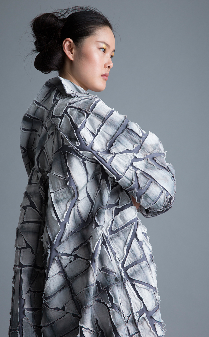 Amy Nguyen Textiles - Kintsugi - Vintage Style Coat