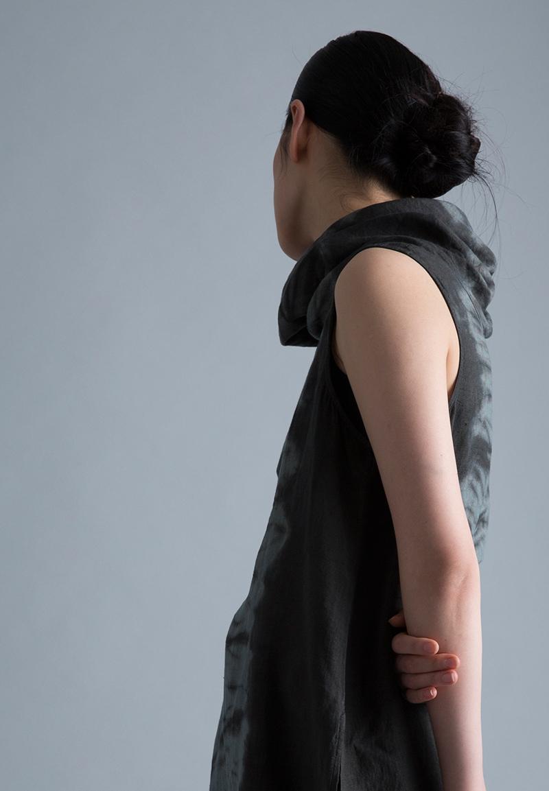 Amy Nguyen Textiles - Kintsugi - Sleeveless Cowl Tunic