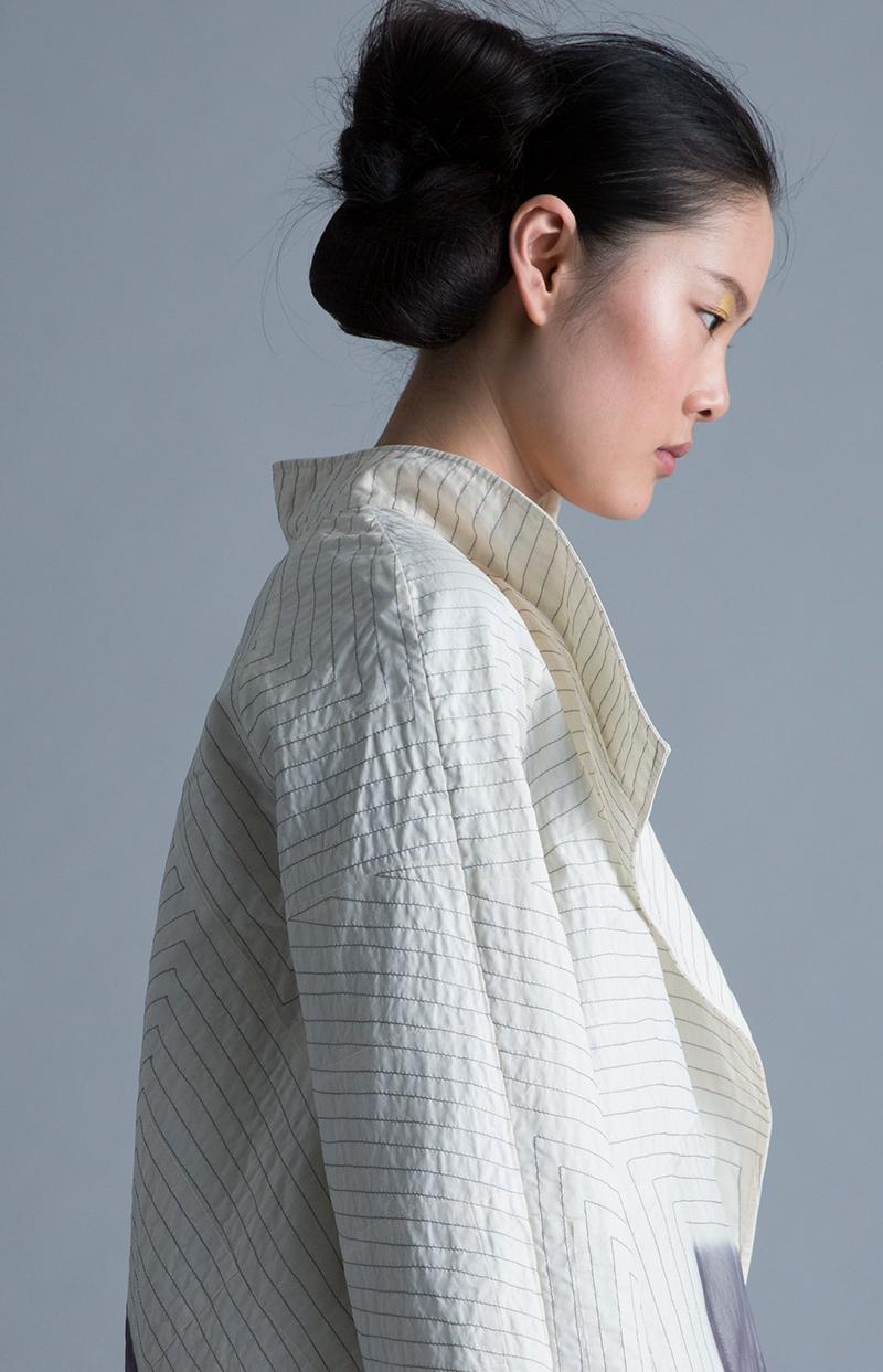 Amy Nguyen Textiles - Kintsugi - Quilted Zen Coat