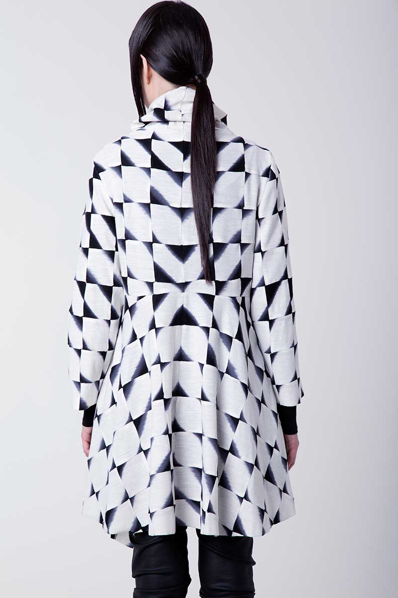Amy Nguyen Textiles - Shibui - Fitted Swing Coat