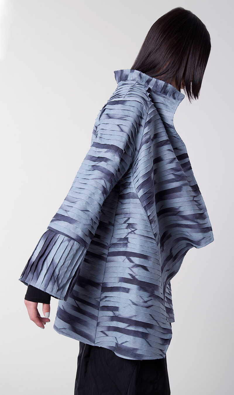 Amy Nguyen Textiles - Shibui - Layered Modern Asymmetrical Coat