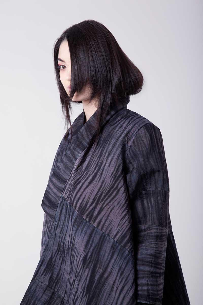 Amy Nguyen Textiles - Shibui - Quilted Travel Coat