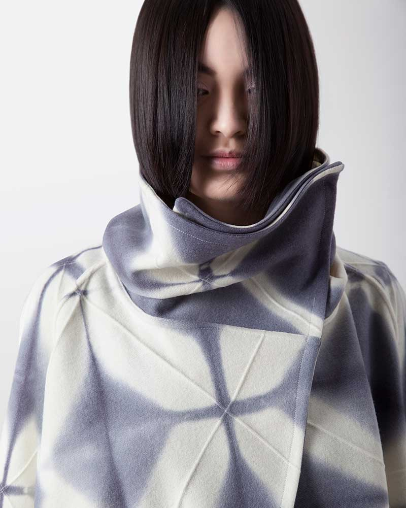Amy Nguyen Textiles - Shibui - Long Swing Coat