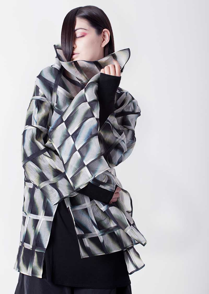 Amy Nguyen Textiles - Shibui - Window Travel Coat