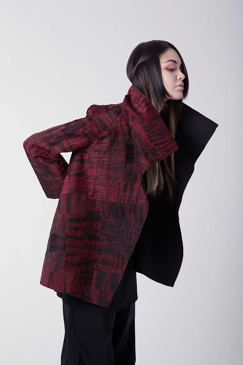 Amy Nguyen Textiles - Shibui - Quilted Short Swing Coat