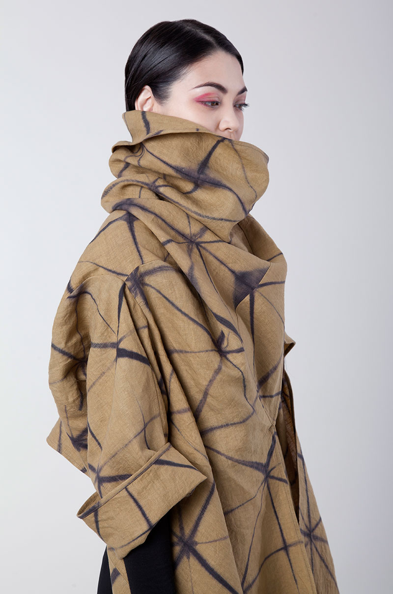 Amy Nguyen Textiles - Shibui - Lightweight Travel Coat