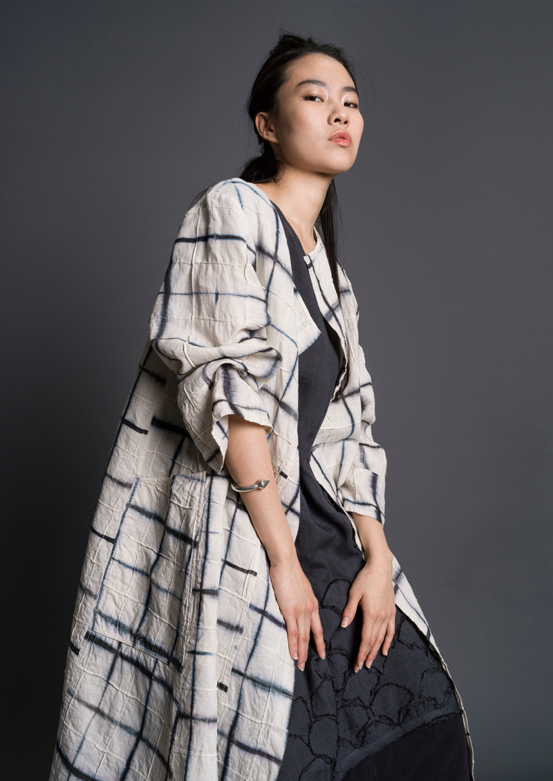 Amy Nguyen Textiles - still. - Intersections Artisan Coat