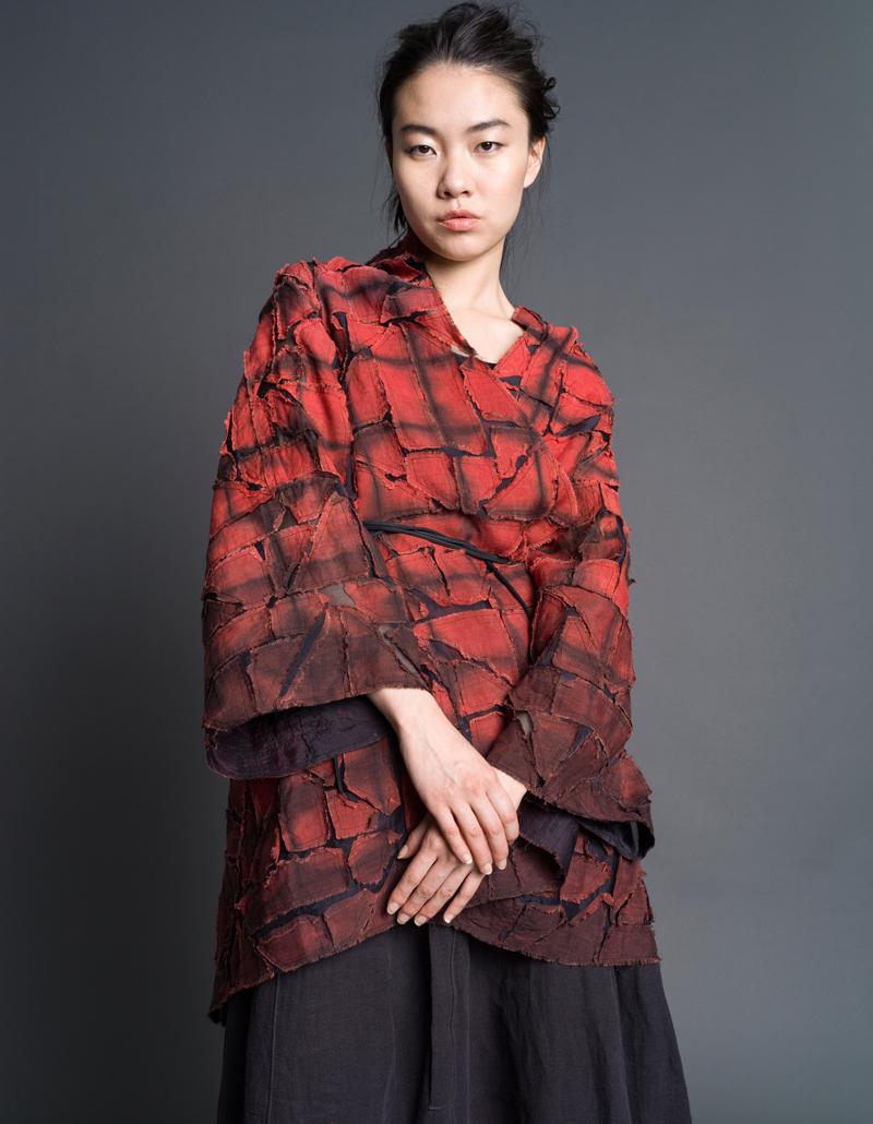 Amy Nguyen Textiles - still. - Puzzle Butterfly Coat