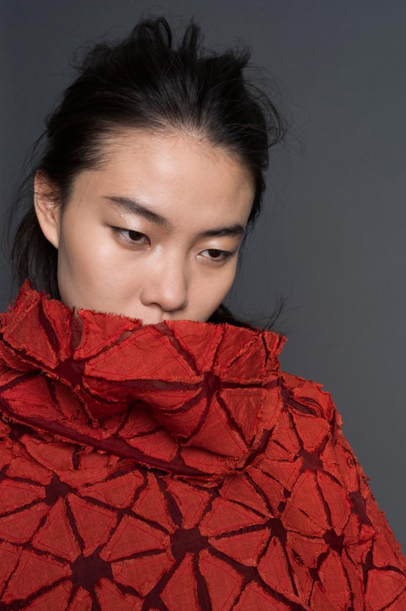 Amy Nguyen Textiles - still. - Long Puzzle Agekubi Tunic