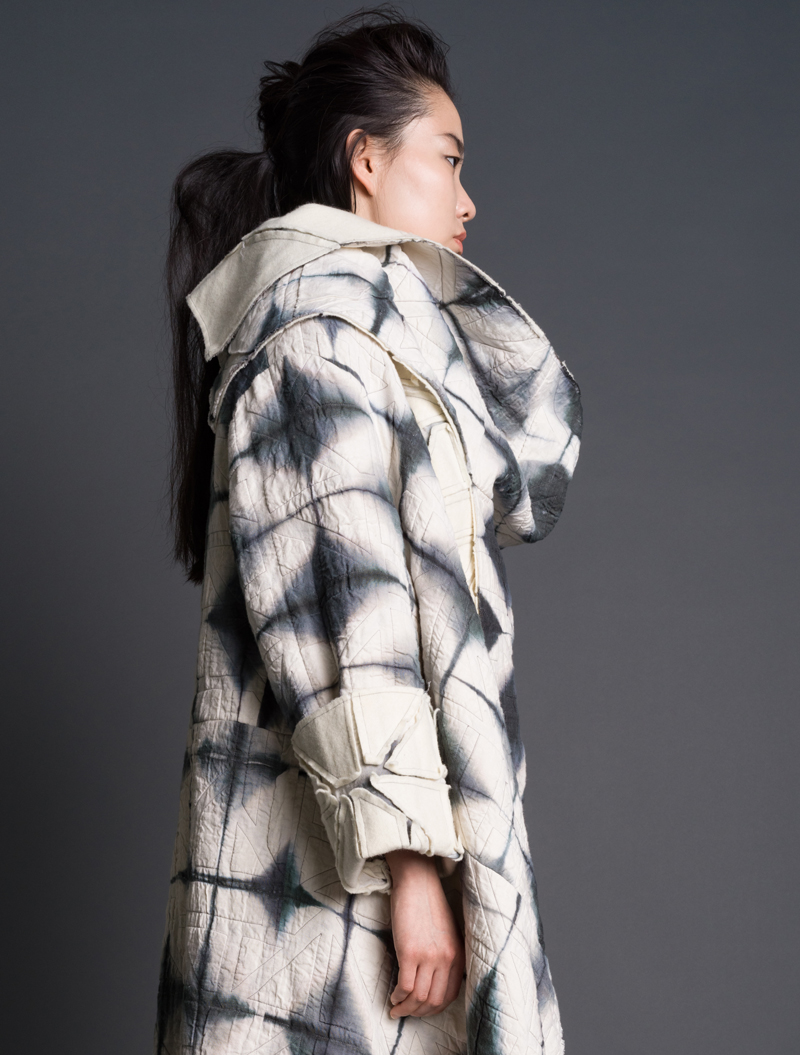 Amy Nguyen Textiles - still. - Puzzle Nomad Coat