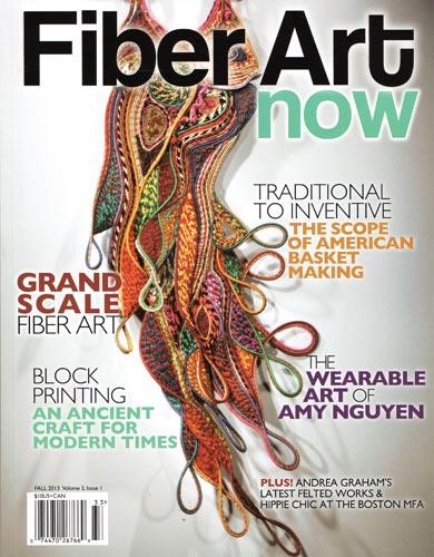 Fiber Art Now, High Contrast: the Wearable Art of Amy Nguyen - Fall 2013